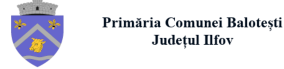 Logo for Primaria Balotesti